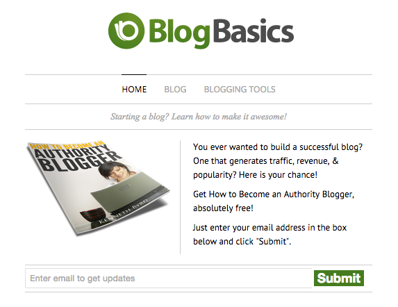 Blog Basics Header