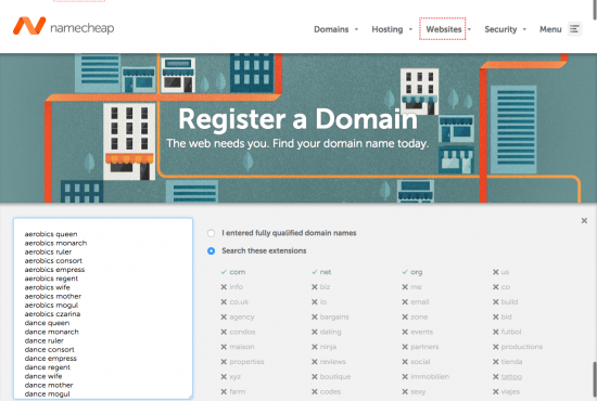 Register Domain With Name